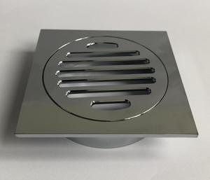 Chrome Plated Brass Floor Drain Cover