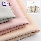 Synthetic stretch leather fabric hard-wearing wearable napa vintage bag pu leather