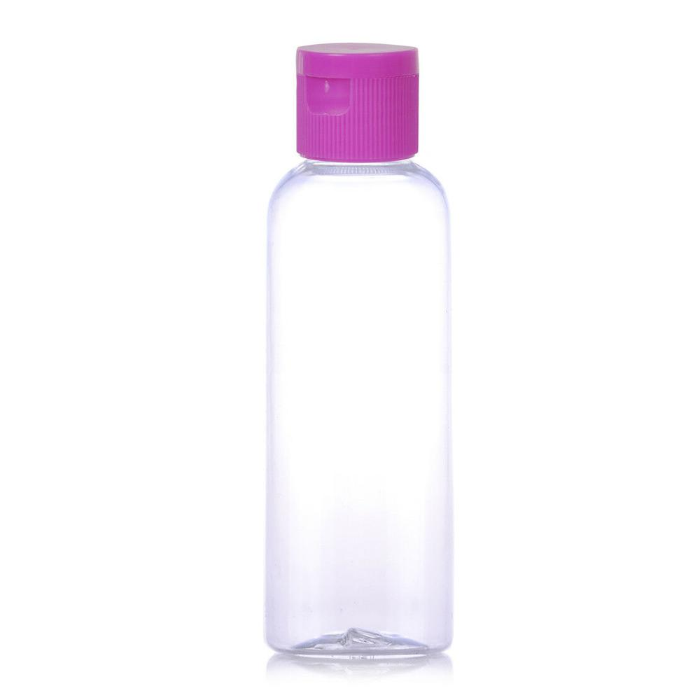120ml foamer cylinder shaped plastic cleansing foam bottle with brush