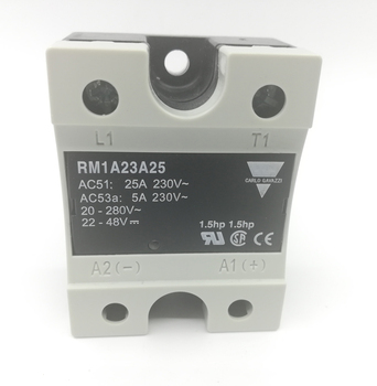 Carlo Gavazzi RM1A40A25 AC/DC to AC 1-phase Zero Switching Solid State Relay 25A for Heater Control
