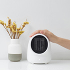JX China Manufacturer Room Mini 500W PTC Ceramic USB Electric Fan Heater