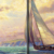 Cheap Wall Decor  5 pieces modern artwork sunset sailing seascape 3d home decor wall art canvas prints