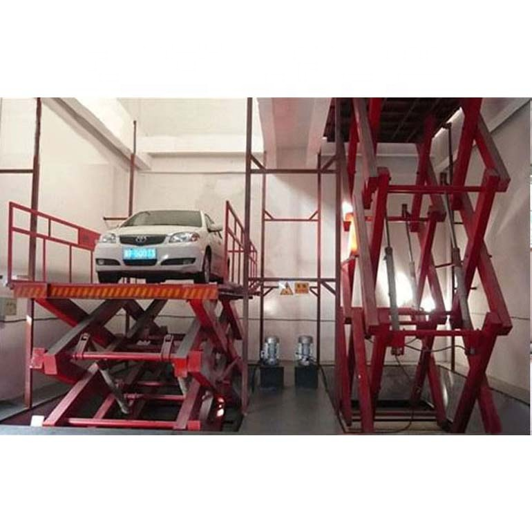 good quality lift table adjustable scissor crane lift