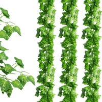 24 Pack (79 inch Each) Fake Ivy Artificial Ivy Leaves Greenery Garlands