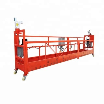 China zlp window cleaning gondola with caster
