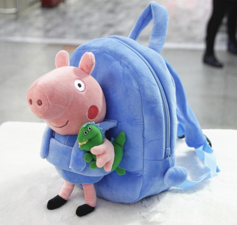 52ac9925fd08 Плюшевые копилка щенок мультфильм шаблон съемный Рюкзак мягкий животных  сумка красивая милый рюкзак для обувь девочек