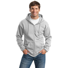 Byval Company Logo Men's Classic Lightweight Hooded Sweatshirt