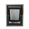 lift up down tempered glass aluminum hung window