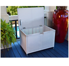 2018 waterproof outdoor garden medium plastic storage box