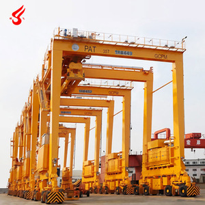 Rubber Tyre Container Gantry Crane Wheel for Sale