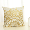 Factory price fashion cushion covers silk decor pillow covers wholesale sequin cushion competitive price