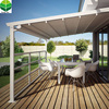 China Garden Motorized Balcony Side Roof Awning with PVC Fabric