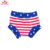 Summer High Waisted Toddler Cotton Ruffle Bummies Baby Girls Diaper Cover Shorts