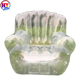 New design customized single Clear PVC Leisure Inflatable Sofa Chairs/inflatable beach sofa for lounge