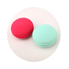 Macaron Shaped Double Side cosmetic Makeup Sponge powder puff for beauty face makeup