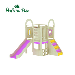 Structure Playground Set Wood Play indoor Area Center Ground Wooden Play Park