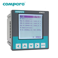 Panel mounted three phase power quality analyzer meter price for switchgear