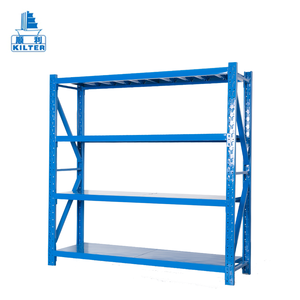 Iron warehouse adjustable steel storage shelf