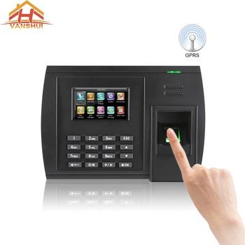 Gprs Sim Card Biometric Fingerprint Attendance Machine With Tcp/ip And Usb  Port - Buy Biometric Time Attendance,Biometric Fingerprint Time Attendance