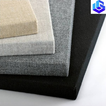 fabric wrapped sound absorbing material acoustic wall panels for EU