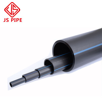 Plastic Irrigation Pipe HDPE PE100 Pipe And fittings For Cold Water