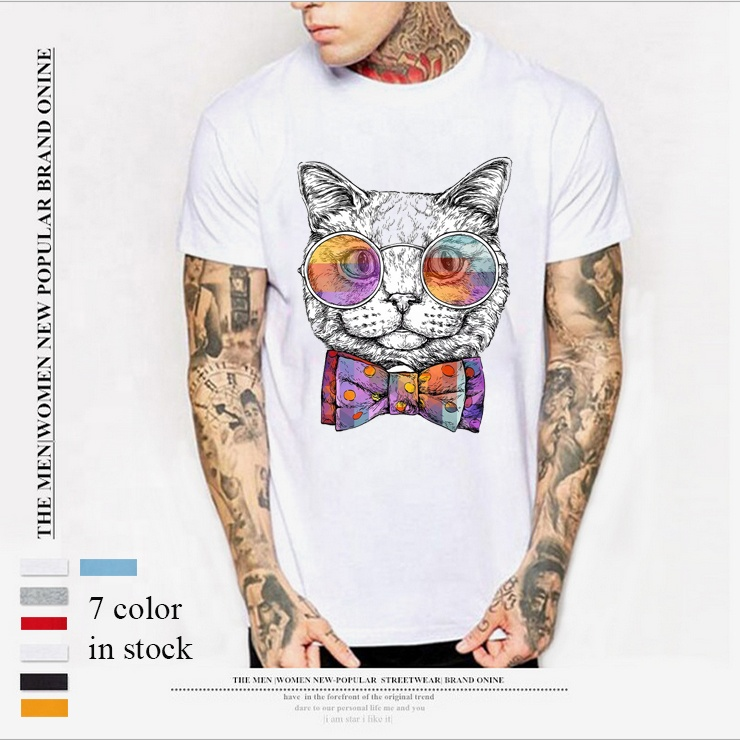 China Manufacturing Custom Design Druck Herren T-Shirt