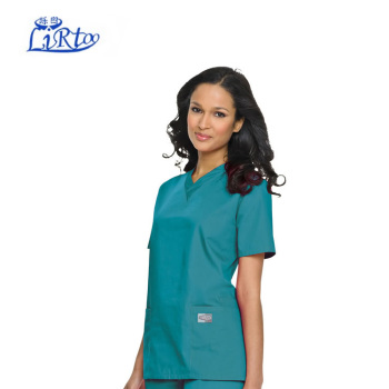 Pink Color Cheap Priced Medical Scrub / Nurse Uniform