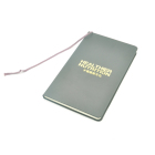 customized hardcover Leather guest book