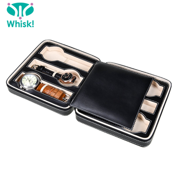 Leather Material Men's Gender Watch Storage Box Automatic Watch