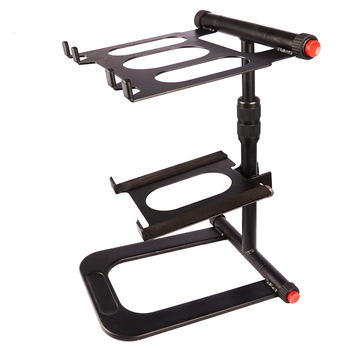 on stage professional aluminium laptop stand musician for dj
