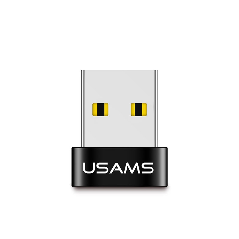 USAMS SJ173 Male Type-C Female OTG Converter Charging Data Transmission USB <strong>Adapter</strong> for phone/mp3/U DISK