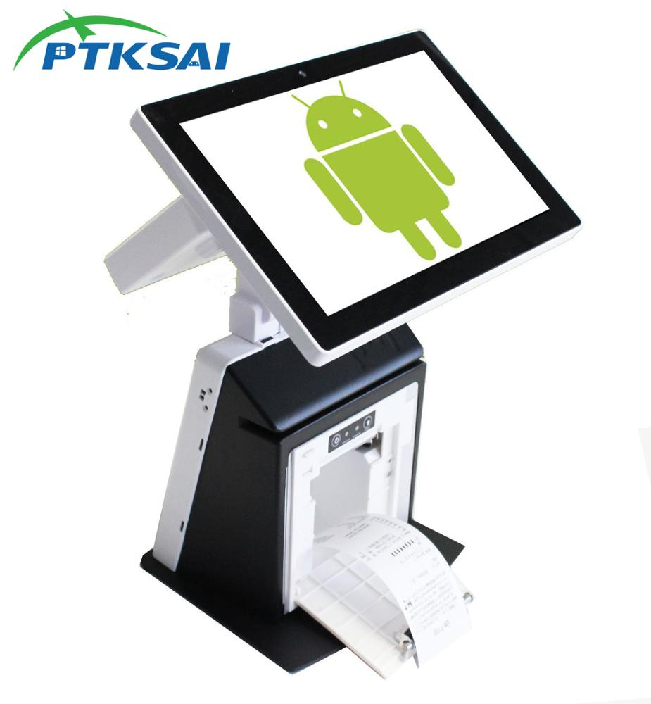 4G All In One EPOS Terminal Ponto de Venda de 11.6 polegadas Touch Screen Android Máquina De Mini Desktop POS Sistema para Restaurante Varejo