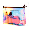2019 Hot Sale Elegant Women TPU PVC Laser Holographic Cosmetic Bag For Summer