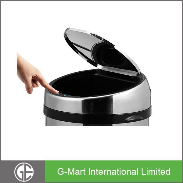 great earth 30liter inox automatic sensor trash can,automatic