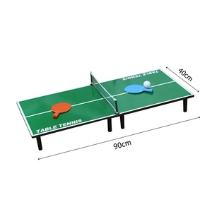 Indoor sport game children mini table tennis set ping pong table top game