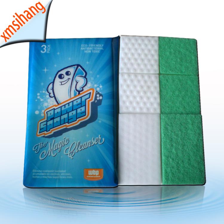 Household multi cleaning items Compressed Magic Melamine Sponge Foam