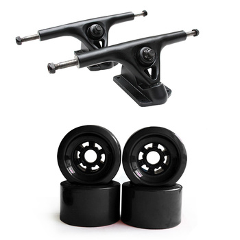 "Wholesale 83mm Big Soft Wheels Truck Set, 7.25"" Longboard Truck Wheels Electrical Skateboard Parts"