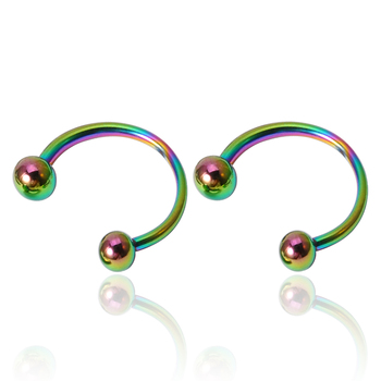 Surgical Steel 316l Stainless Steel Body Piercing Jewelry Multi