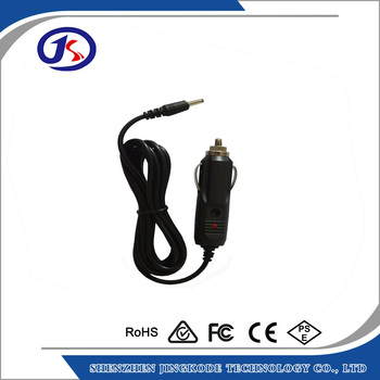 CE certified DC 12v car adaptor cable car vehicle cigarette lighter cable