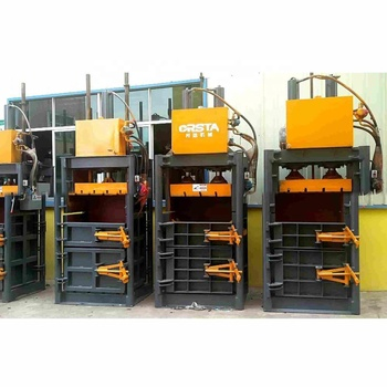 High Efficient Hot Straw  Waste Paper Cardboard Baler Machine
