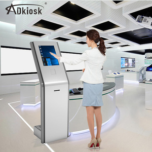 19inch payment terminal one screen kiosk display case self service machine information kiosk