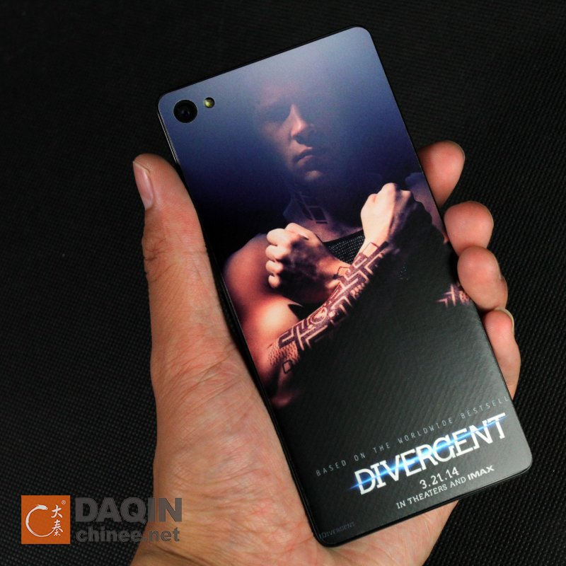 Cell phone skin sticker making machine for for xiaomi mi3 tpu cell phone skin back cover