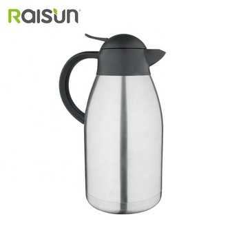 high quality popular stainless steel double wall insulated vacuum coffee pot on sale