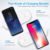 Great Free Shipping RAXFLY Portable 2 In 1 Fast Wireless Charger For iPhone X 8 XR XS Max And For Apple Watch 2 3