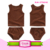 Cotton new design baby 2 piece short sleeve crop top cute Baby ruffle Bloomer underwear children swing top set