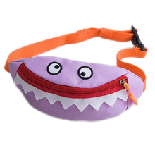 Mini Nette Leinwand Taille cartoon fanny pack kinder