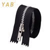 YAB Manufacturer Wholesale Close End Long Chain Metal Aluminum Zipper