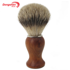 New Design Wholesale Wooden Badger Hair Shaving Brush for Man