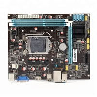 High performance low price support core I3 I5 I7 main board socket 1155 H61 computer parts motherboard