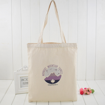 Fashion canvas tote bag,customized logo printing recycled shopping linen cotton bag